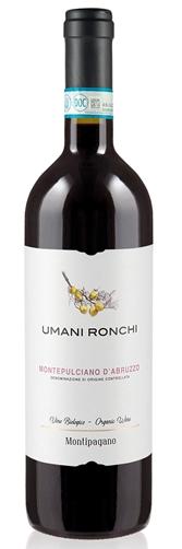 2018 Umani Ronchi Montipagano Montepulciano d'Abruzzo DOC Abruzzo Italy