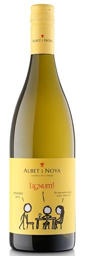 2017 Albet i Noya Lignum Blanc Penedes Spain