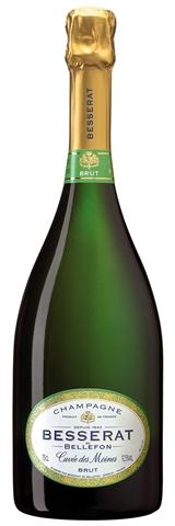 NV Besserat de Bellefon Cuvée des Moines Brut 750ml Champagne France